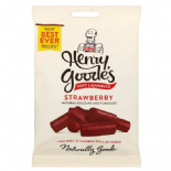 Henry Goode's Liquorice  - Strawberry Flavour 200g